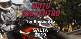 Primer moto encuentro internacional en Salta