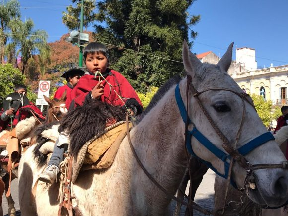 Llegaron peregrinos de Molinos, La Viña y Santa María de Catamarca