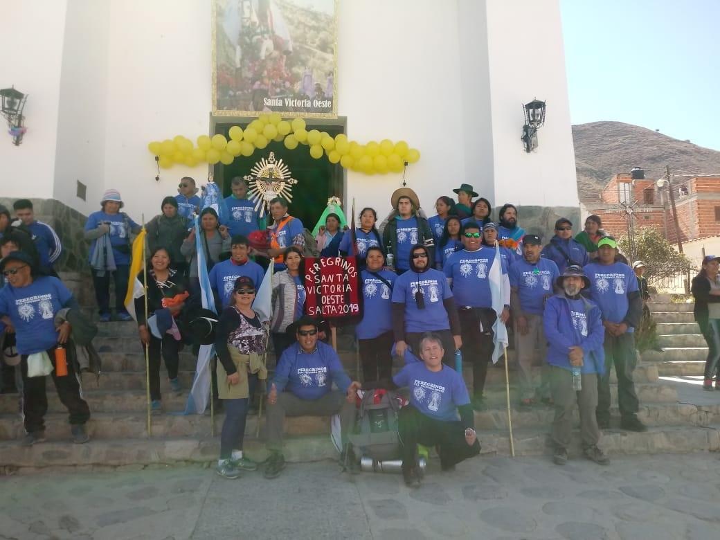 Ya partieron los peregrinos desde el norte provincial