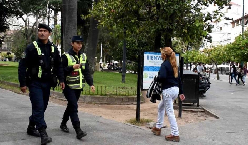 Fuertes operativos preventidos de la Policía durante la fiesta del Milagro