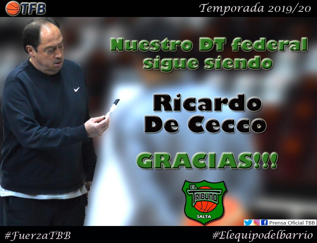 De Cecco sigue al frente de El Tribuno Basquetbol TBB