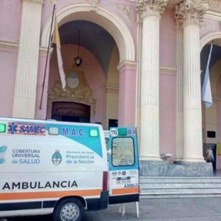 El SAMEC continúa brindando la cobertura sanitaria durante la festividad del Milagro