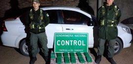 Circulaban con más de 15 kilos de cocaína y fueron detenidas siete personas