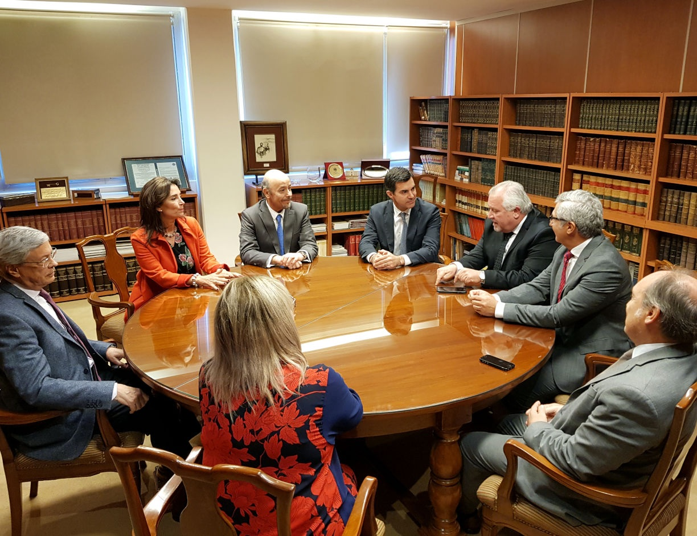 El Gobernador Urtubey en reunión con jueces de la Corte de Justicia