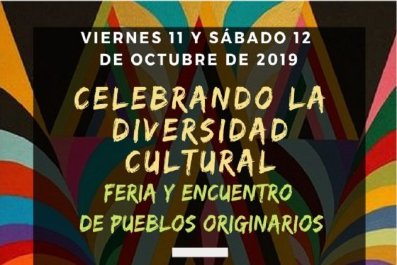 Por el día del Respeto a la Diversidad Cultural se realiza una feria y encuentro de Pueblos Originarios