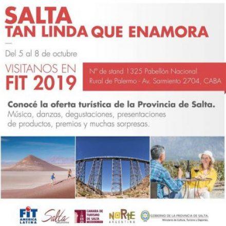 Salta promocionará sus atractivos turísticos en la Feria Internacional de Turismo