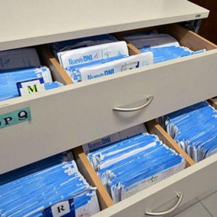 El Registro Civil entrega hoy DNI