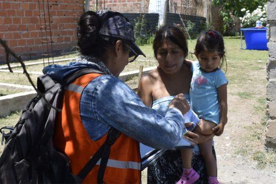 Actualizan información de familias que integran La clave está en los niños
