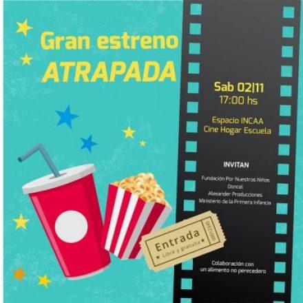 """Jóvenes de hogares convivenciales estrenan """"ATRAPADA"""" un cortometraje de su autoría"""
