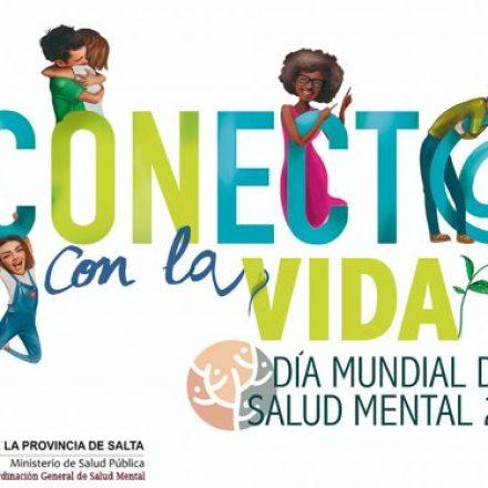 Habrá actividades por el Día Mundial de la Salud Mental