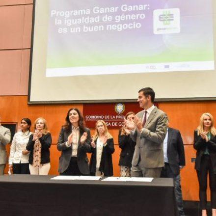 La Provincia se sumó al programa Ganar-Ganar: la Igualdad de género es un buen negocio