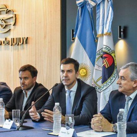 Los gobernadores Urtubey y Morales presentaron la Copa Norte de Fútbol
