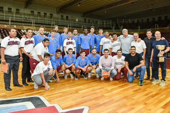 Urtubey felicitó a Salta Basket por su histórico desempeño en la Liga Sudamericana