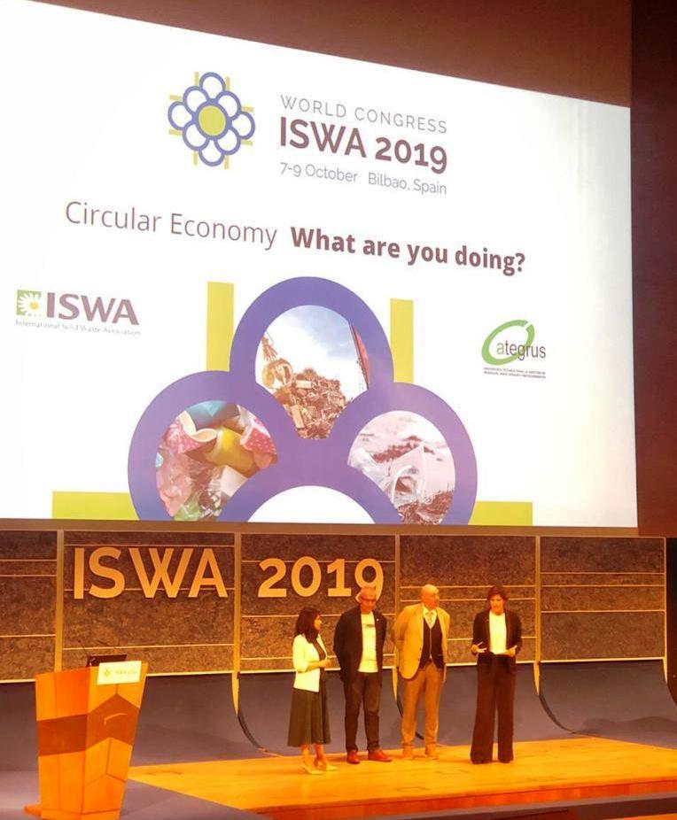 """Agrotécnica Fueguina presentó nuevamente el Programa """"Separemos Juntos""""  en el Congreso Internacional de ISWA 2019"""