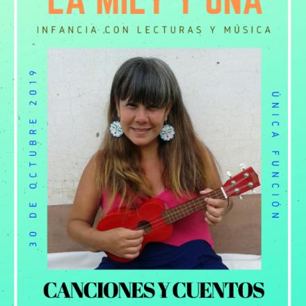 """Mily Ibarra presenta """"Canciones y Cuentos"""