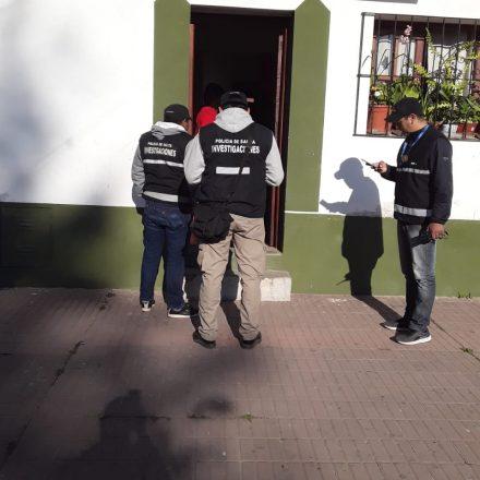 Allanamientos y detenciones por varios ilícitos cometidos en nuestra Capital
