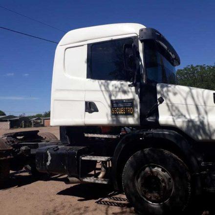Recuperan un camión que era buscada por la justicia de Córdoba
