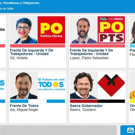 Más de un millón de ciudadanos podrán votar el domingo en las PASO salteñas