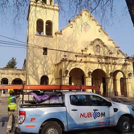Comenzó la instalación de cámaras de seguridad en la ciudad de Metán