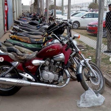 El Poder Judicial realizará en segundo remate de motos
