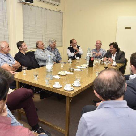 Sáenz se reunió con miembros de la comisión directiva de la Cámara Argentina de la Construcción Delegación Salta