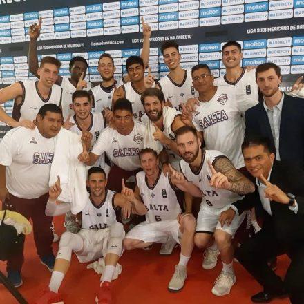 Los Infernales de Salta Basket terminaron invictos tras superar a Nacional de Uruguay