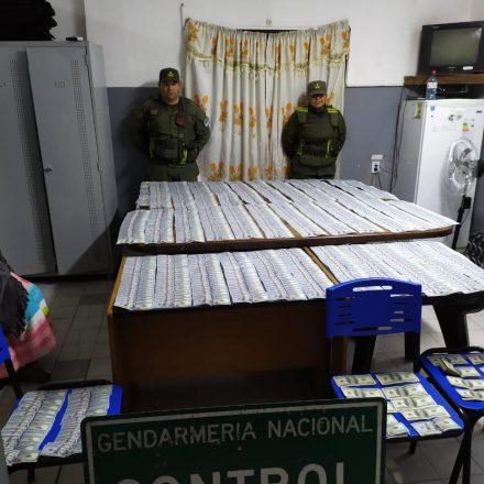 En tres procedimientos decomisan  cocaína, mercadería ilegal y dinero en efectivo