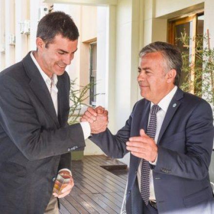 El gobernador Urtubey se reunió con su par de Mendoza, Alfredo Cornejo