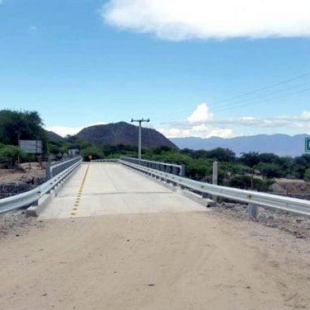 Se inaugura hoy un nuevo puente vial en Animaná