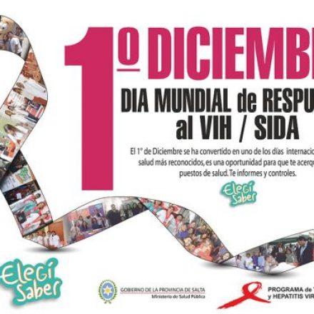 Mañana comienzan las actividades por el Día Mundial de Repuesta al VIH/SIDA