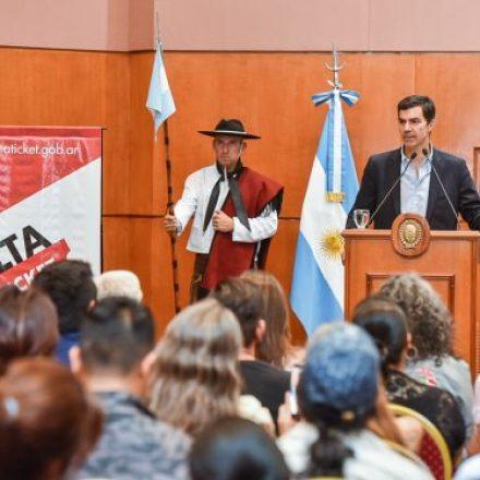 El gobernador Urtubey lanzó oficialmente la aplicación web de venta de entradas Salta Ticket