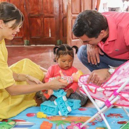 El Gobernador inauguró el Centro de Primera Infancia número sesenta y uno en La Poma