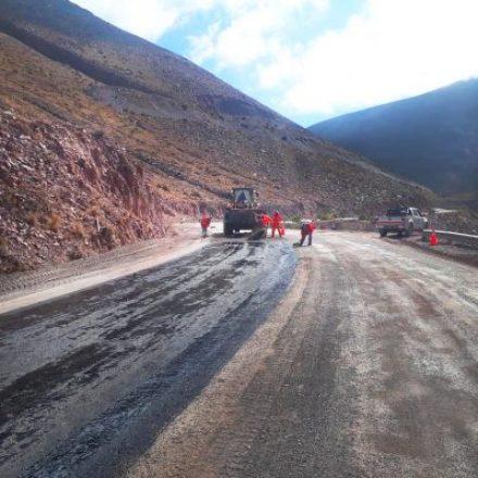 Avanza la rehabilitación de la Ruta de acceso a las Salinas Grandes, una de las maravillas más destacadas de la Argentina