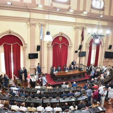 Urtubey participó de la toma de juramento a los senadores electos en los últimos comicios