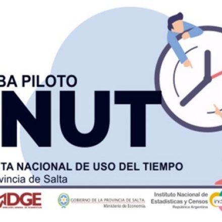 Estadística provincial e Indec realizan una prueba piloto sobre el uso del tiempo