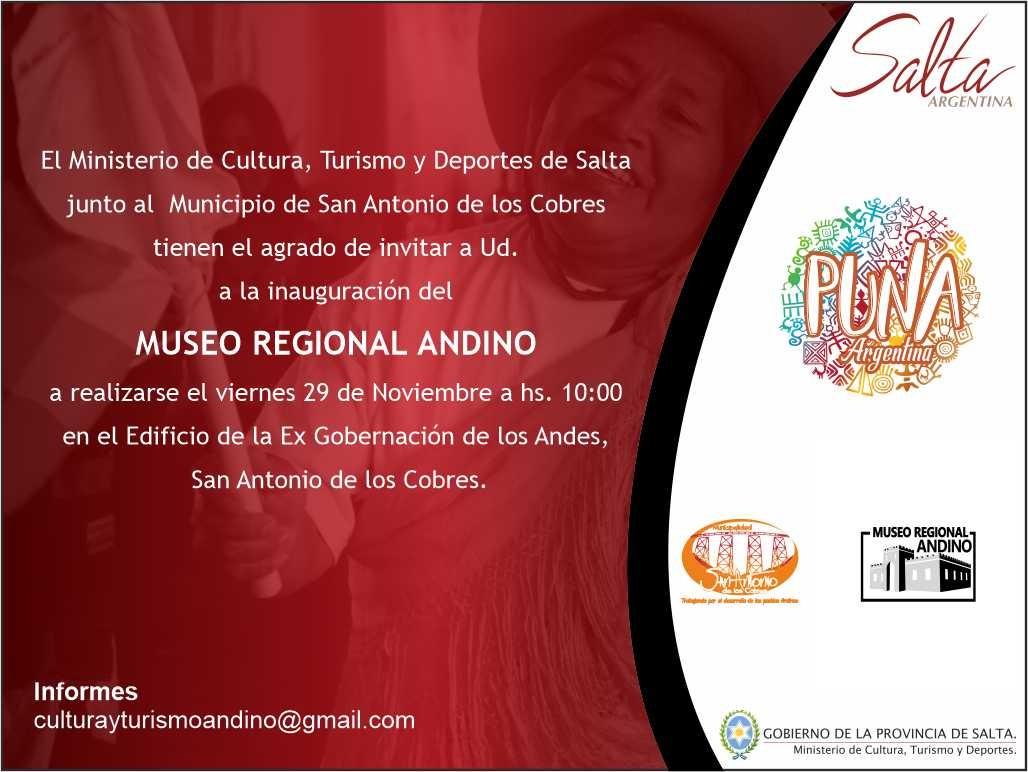 Mañana se inaugurará el Museo Regional Andino en San Antonio de los Cobres