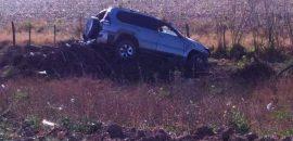 Accidente con víctima fatal en jurisdicción de J. V. Gonzalez