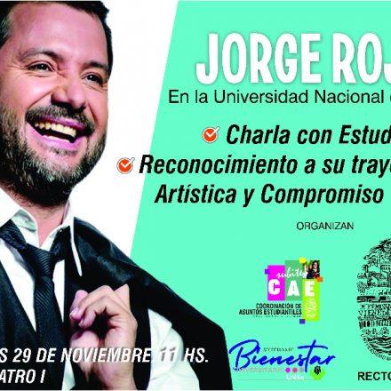 Charla de Jorge Rojas con estudiantes de la Universidad Nacional de Salta