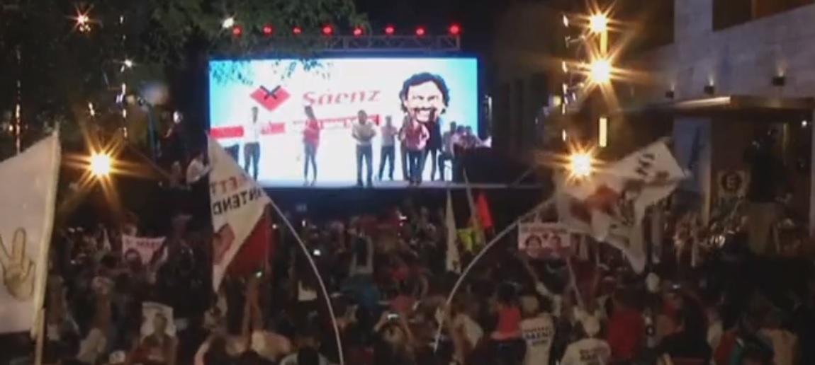 Gustavo Saenz es el gobernador electo de la Provincia