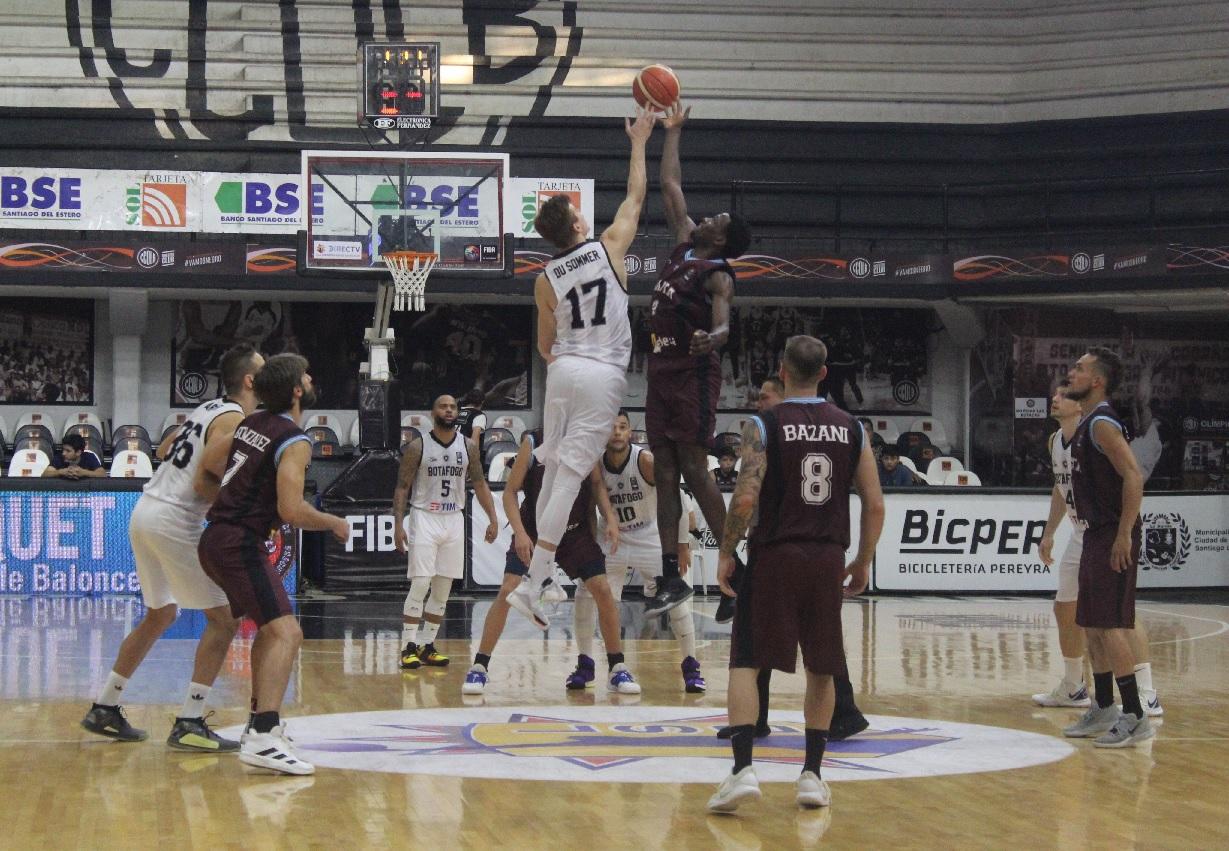 En un vibrante encuentro Salta Basket perdió en el segundo final por la mínima