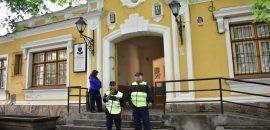 La policía realizó una importante cobertura de seguridad durante las elecciones provinciales