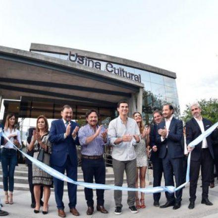 Sáenz participó del acto de inauguración de la Usina Cultural de Salta