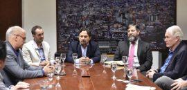 Sáenz se reunió con los directivos de empresa First Quantum Minerals