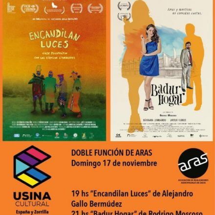 Doble función de cine local en la Usina Cultural este domingo