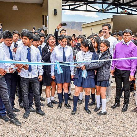 El gobernador visitó Iruya: «este debe ser uno de los departamentos donde más escuelas se construyó»