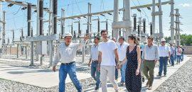 El Gobernador recorrió la nueva Estación Transformadora de Pichanal que dará solución al problema energético del norte