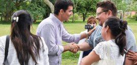 """""""Juntos hemos puesto a la provincia de pie"""", dijo Urtubey en Salvador Mazza"""