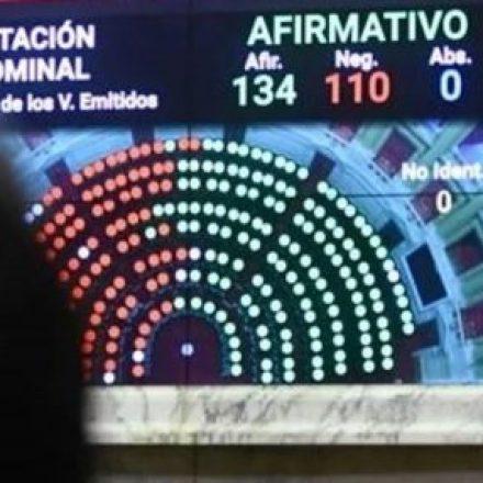 Diputados dio media sanción al proyecto de Ley de Emergencia Económica