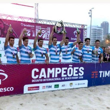 Dos salteños, campeones de Beach Rugby en Río de Janeiro