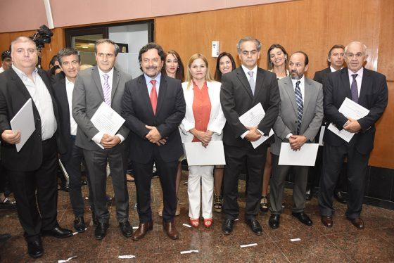 El gobernador Sáenz tomó juramento a nuevos funcionarios provinciales